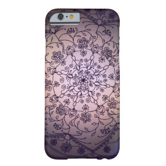 Mandala de la luna de cosecha - cielo de la caída funda de iPhone 6 barely there