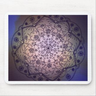 Mandala de la luna de cosecha - cielo de la caída tapetes de raton