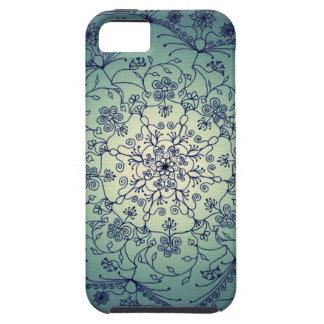 Mandala de la luna de cosecha - crepúsculo funda para iPhone 5 tough
