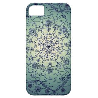 Mandala de la luna de cosecha - crepúsculo iPhone 5 carcasa