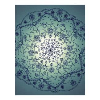 Mandala de la luna de cosecha - crepúsculo membrete personalizado