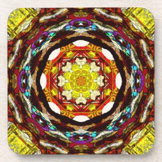 Mandala de la luz #2 posavasos