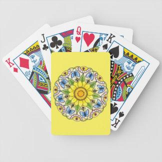 Mandala de la naturaleza baraja de cartas