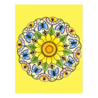 Mandala de la naturaleza postal