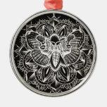 Mandala de la polilla adorno de reyes