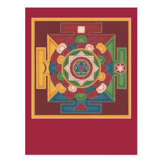 Mandala de la POSTAL de los 5 elementos