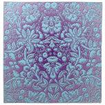 Mandala de la primavera servilletas imprimidas