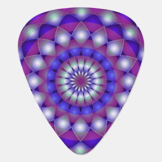 Mandala de la púa de guitarra
