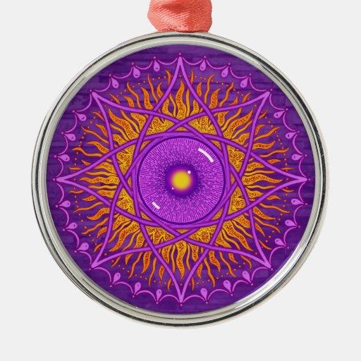 mandala de la púrpura del osholo adorno para reyes