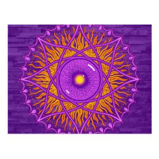 mandala de la púrpura del osholo postal