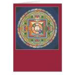 Mandala de la TARJETA de Chenrezig/de
