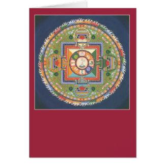 Mandala de la TARJETA de Chenrezig/de Avalokiteshv