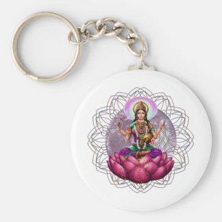 Mandala de Lakshmi de la diosa Llaveros Personalizados