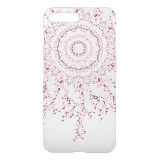 Mandala de las flores de cerezo fundas para iPhone 7 plus