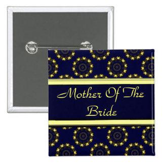 Mandala de Lotus alheña boda Pins
