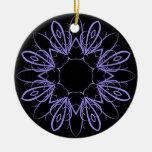 Mandala de lujo del bígaro ornamentos de reyes