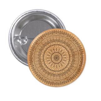 Mandala de madera pin redondo 2,5 cm