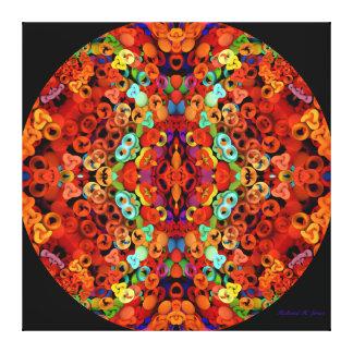 Mandala de Marakesh Impresión En Lienzo Estirada