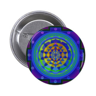 Mandala de OM (AUM) Yantra Pins