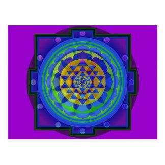 Mandala de OM (AUM) Yantra Postal