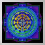 Mandala de OM Yantra Impresiones