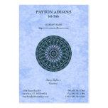 Mandala de Permascope - tarjeta de visita vertical