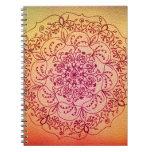 Mandala de Perseid Libreta Espiral