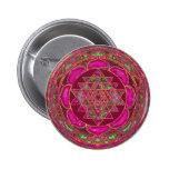 Mandala de Sri Lakshmi Yantra Pin
