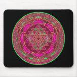 Mandala de Sri Lakshmi Yantra Tapetes De Ratones
