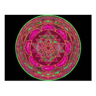 Mandala de Sri Lakshmi Yantra Postal