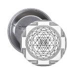 Mandala de Sri Yantra Pin
