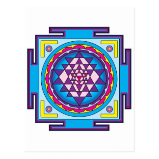 Mandala de Sri Yantra Postal