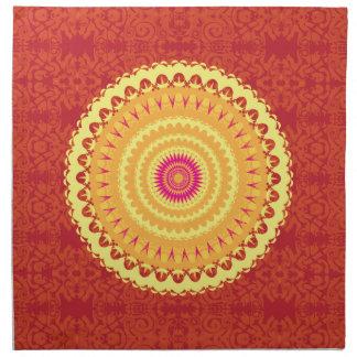 Mandala de Sun Servilleta De Papel