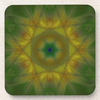 Mandala de Sunbow Posavasos De Bebida
