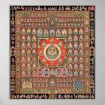 Mandala de Taizokai Impresiones