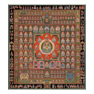 Mandala de Taizokai Póster