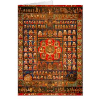 Mandala de Taizokai Tarjeta De Felicitación