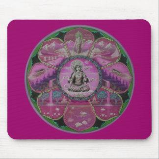 Mandala de Tara de la diosa Mouse Pad