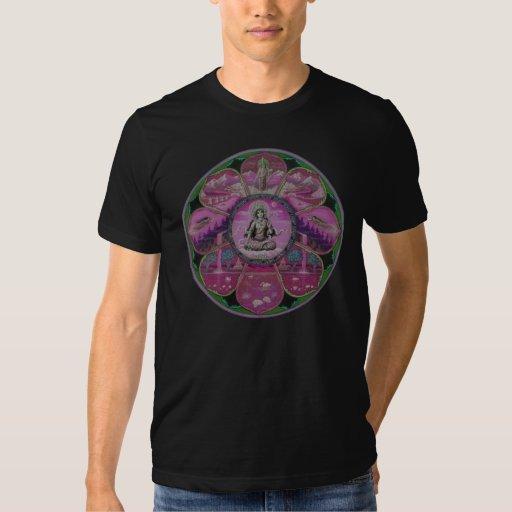 Mandala de Tara de la diosa Remeras