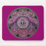 Mandala de Tara de la diosa Tapetes De Ratones