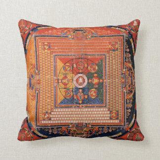 Mandala de Vajradhatu Thangka Cojín