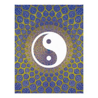 Mandala de Yin Yang Membrete