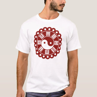 Mandala de Yin Yang Playera