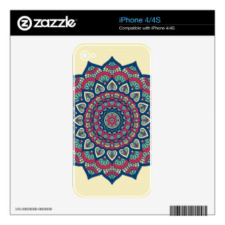 Mandala Decal For The iPhone 4