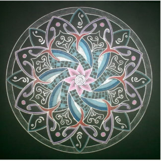 Mandala Deepsee Energy painting Cutout