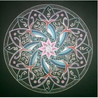 Mandala Deepsee Energy painting Photo Cut Outs