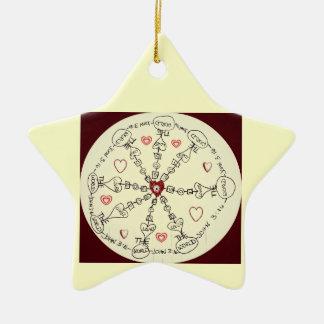 Mandala del 3:16 de Juan Ornamentos De Reyes