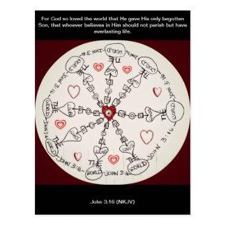 Mandala del 3 16 de Juan Tarjetas Postales