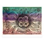 Mandala del agua postal