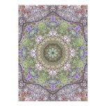 Mandala del bosque del otoño de los Wildflowers Anuncio Personalizado